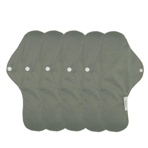 serviette gris hygiénique lavable mypads SH4420-M-GRI