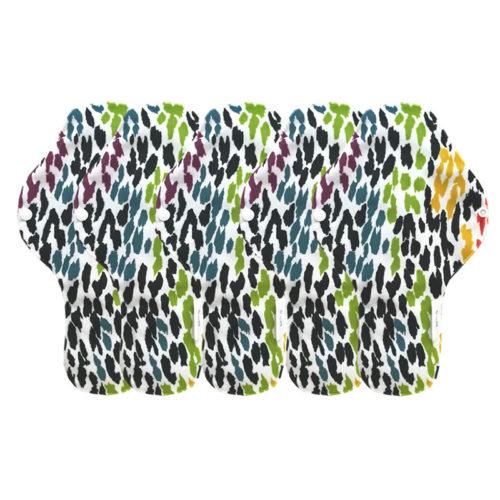 serviette multicolor hygiénique lavable mypads SH4420-M-MUL