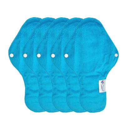 SH4420-M-AQU serviette hygiénique lavable Mypads