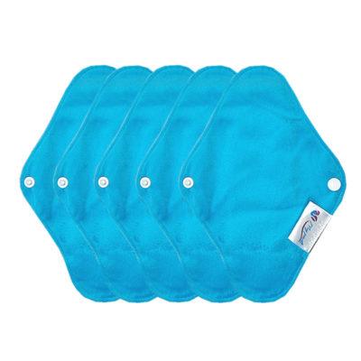 SH4420-S-AQU Protège-Slips lavables mypads