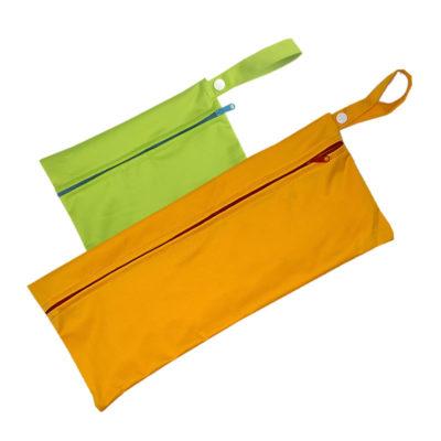 2 sacs lunch bagGR1008 orange et vert