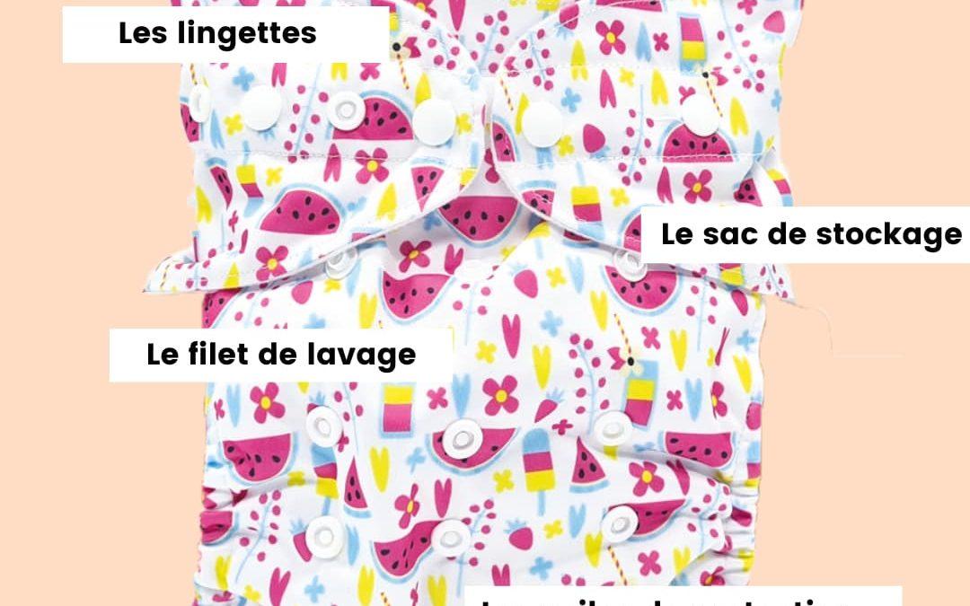 Les accessoires utiles pour les couches lavables