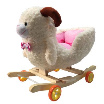 Mouton à bascule et à roulettes 2 en 1 Dès 6 mois - Jusqu'à 30 kg