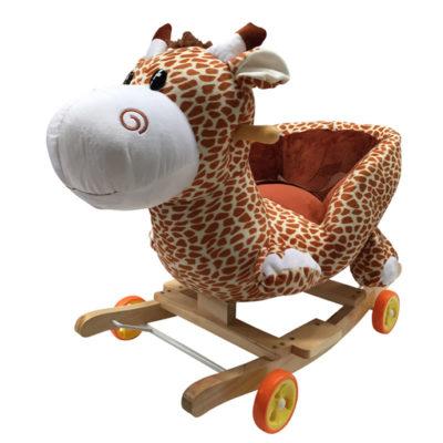 Girafe à bascule et à roulettes 2 en 1 Dès 6 mois - Jusqu'à 30 kg