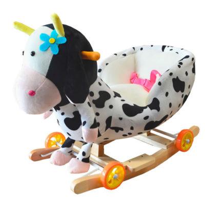 Vache à bascule et à roulettes 2 en 1 Dès 6 mois - Jusqu'à 30 kg