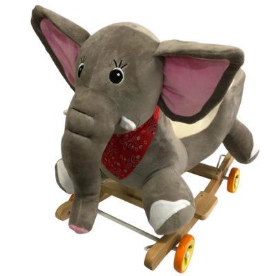 Dumbo à bascule et à roulettes 2 en 1 Dès 6 mois - Jusqu'à 30 kg