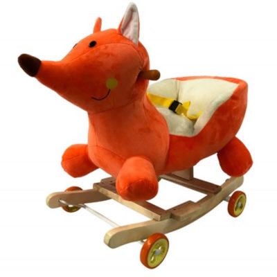 Fox le renard à bascule et à roulettes 2 en 1 - Dès 6 mois